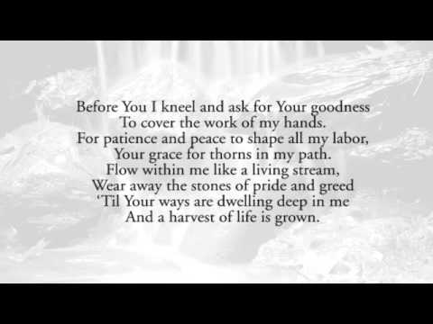 Before You I Kneel (A Worker's Prayer) - Keith & Kristyn Getty