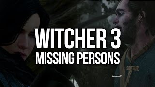 Witcher 3 Walkthrough Part 21 - Missing Persons & Nameless