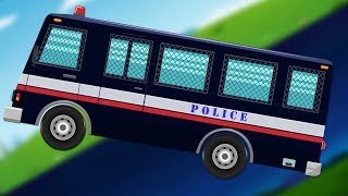 Police Bus | Day to Night | Formation and Uses | Police Vehicle
