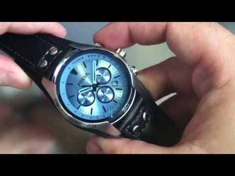 Fossil Watch Glass