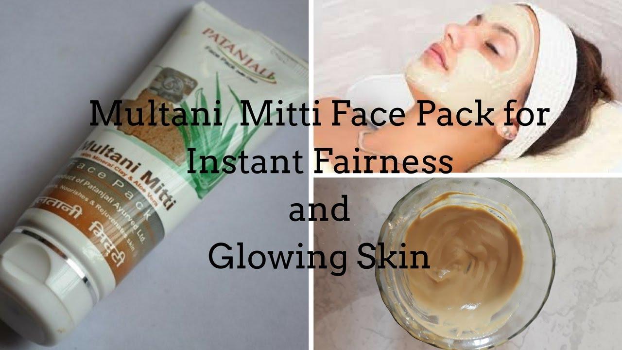 Watch Fairness with multani mitti Skin glow with multani mitti video