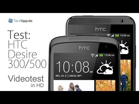 HTC Desire 300 / 500 | Doppeltest in deutsch (HD)