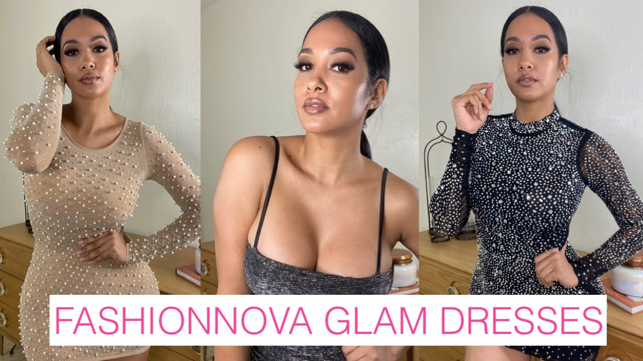 FASHIONNOVA DRESSES TRY ON HAUL