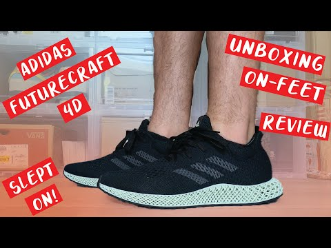 ADIDAS FUTURECRAFT 4D RERELEASE 2021 UNBOXING, ON FEET, REVIEW!