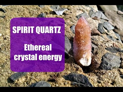 Spirit Quartz Ethereal Crystal Energy