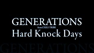 Gambar cover GENERATIONS from EXILE TRIBE/Hard Knock Days
