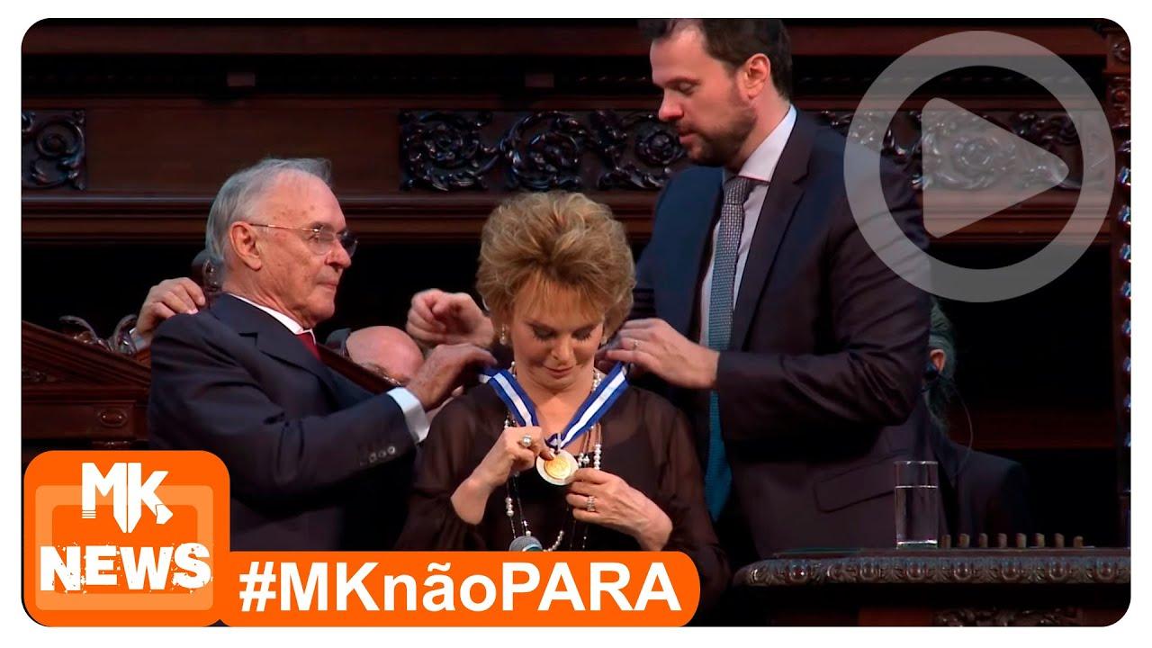 Yvelise de Oliveira - Entrega da Medalha Tiradentes (News)
