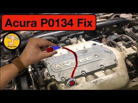 how to fix Acura P0134 – Oxygen sensor