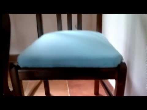 Relleno y tapizado youtube - Relleno para sillas ...