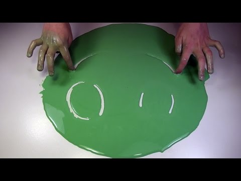 How to Make Non-Newtonian fluid - cool and amazing science experiment to do at home