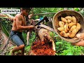 Coconut Worms | Uok or Batud | Catch & Cook | Best Pulutan