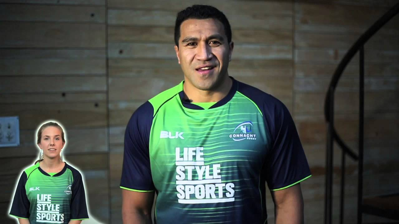 8cc8f0b5b5 Mils Muliaina sends a message to Connacht Rugby supporters - YouTube