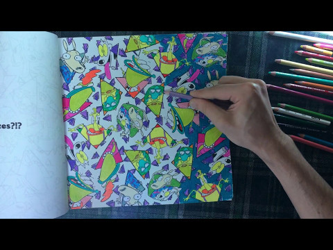 Color With Me - Episode 24 - The Splat: Coloring The '90s (Nickelodeon) -  Time-Lapse - Prismacolor - YouTube
