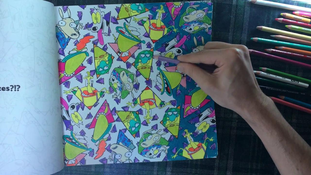 Nickelodeon The Splat Coloring Book