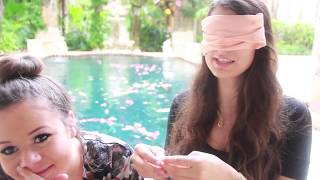Blindfolded Touching Challenge