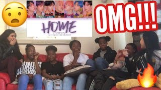 Gambar cover BTS (방탄소년단) - HOME (Color Coded Lyrics Eng/Rom/Han/가사) REACTION