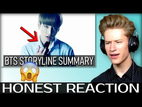 HONEST REACTION to BTS STORYLINE SUMMARY + EXPLANATION | TIMELINE & THEORIES