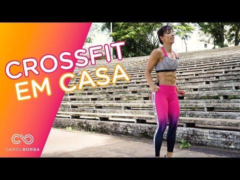 Crossfit em casa - Carol Borba