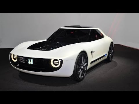 Salon De Genève 2018 Honda Sports Ev Youtube