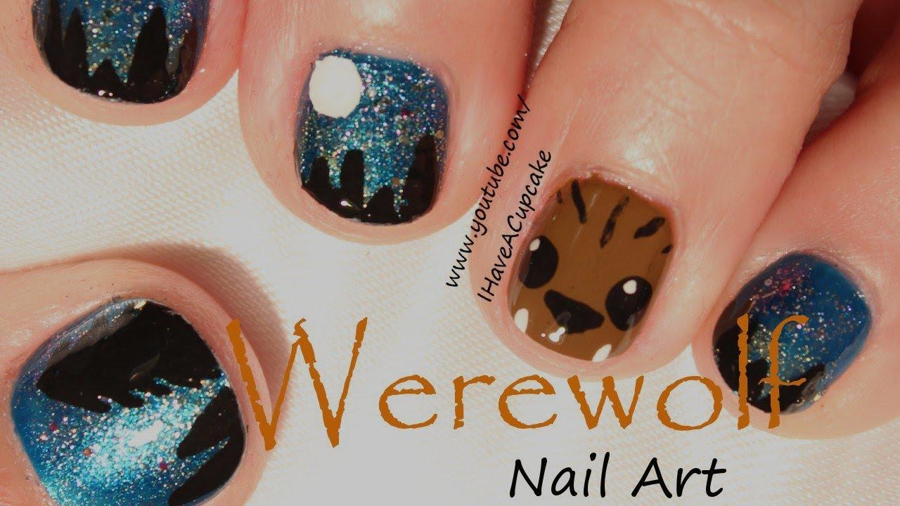 Halloween nails werewolf halloween nail art youtube halloween nails werewolf halloween nail art prinsesfo Gallery