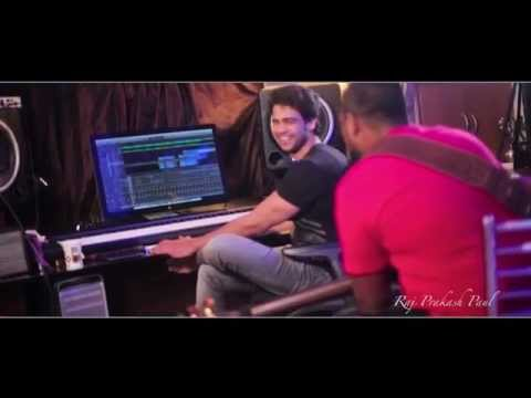 Raj Prakash Paul - Featuring Naveen on Bass Guitar - Making of Sarva Lokama song.