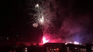 Bridgwater guy Fawkes carnival fireworks 2/11/18