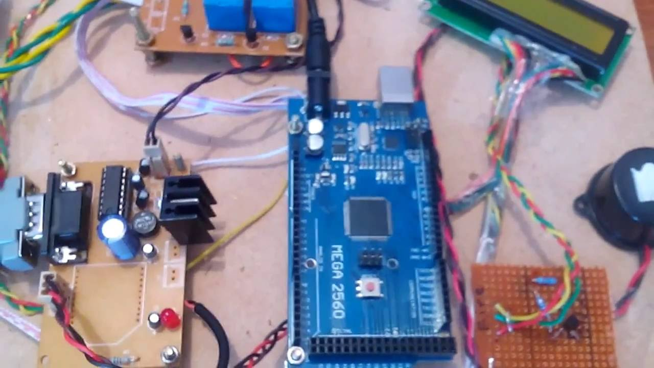 Home Automation Industrial Parameters Monitoring Using