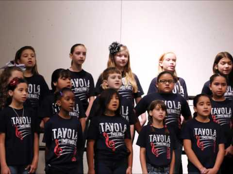 Tavola Elementary School Choir - Spring 2016