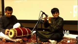 Ankith Krishna Dasa Carnatic Flute First Performance Feb 2013
