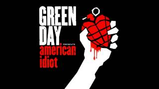 Green Day - American Idiot (Clean Edited Version)