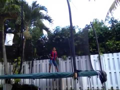 Nilay Patel attempts a 180 backflip/more