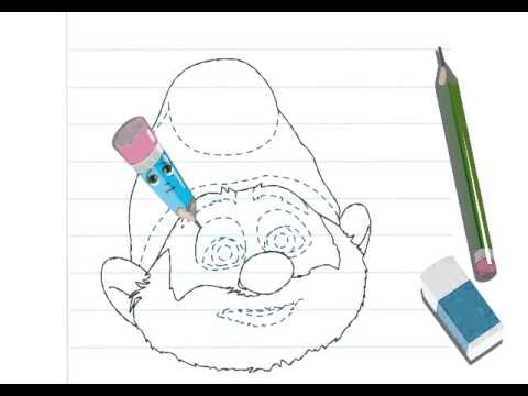Apprendre dessiner le grand schtroumpf hellokids youtube - Schtroumpf a dessiner ...