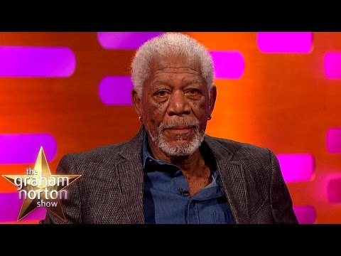 Morgan Freeman ReEnacts The Shawshank Redemption  The Graham Norton
