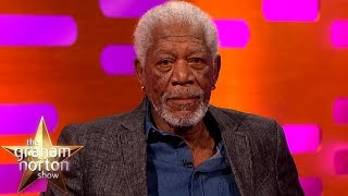 Morgan Freeman Re-Enacts The Shawshank Redemption | The Graham Norton Show
