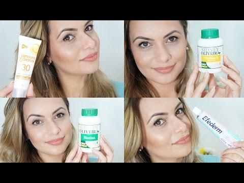 Cuidados Com a Pele do Rosto - Creme Efederm , Colágeno Biotina e Vitamina E - Parte 2