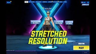 How To Get Stretched Resolution In Fortnite SEASON 10 *WORKING*