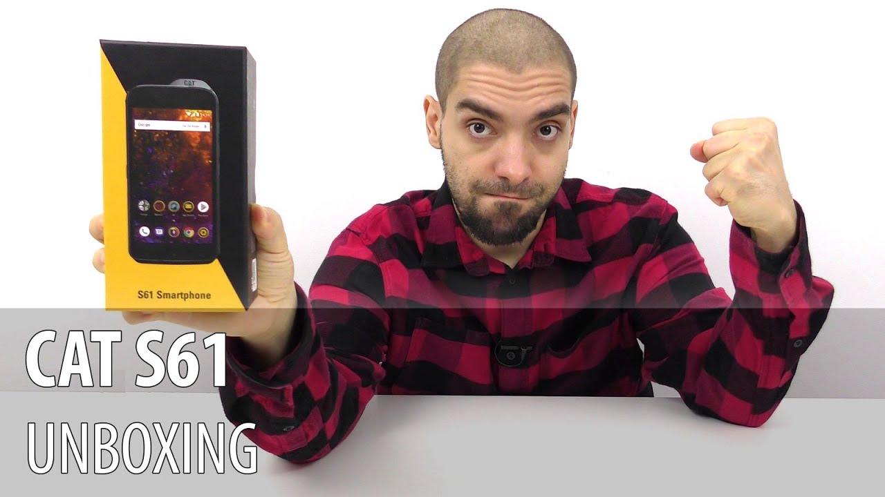 CAT S61 Unboxing în Limba Română  (Telefon robust cu cameră termică)