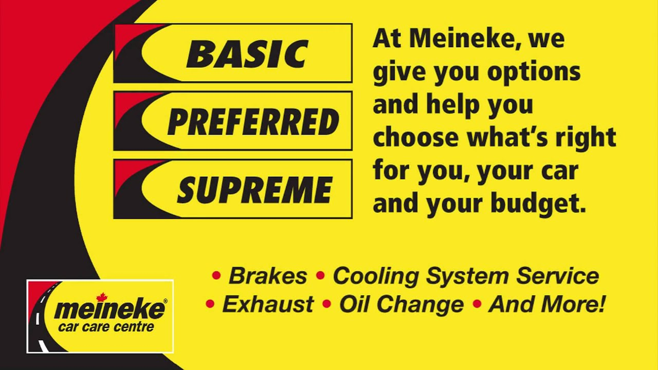 Meineke Oil Change >> Meineke Pickering Youtube