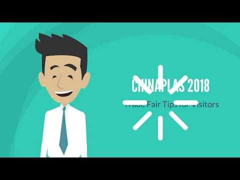 CHINAPLAS 2018 - Trade Fair Tips For Visitors