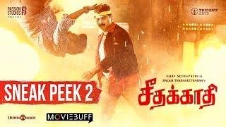 Seethakaathi - Moviebuff Sneak Peek 02 | Vijay Sethupathi | Balaji Tharaneetharan | Govind Vasantha