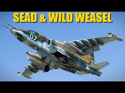 Reapers SEAD & Wild Weasel Practice Mission | Su-25 Su-27 Mirage A-10 | DCS