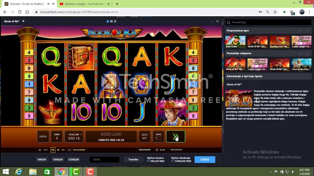 Book Of Ra Online Igre