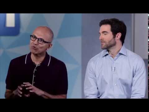 Microsoft buys LinkedIn - Full Announcement - Satya Nadella & Jeff Weiner - June 13th 2016