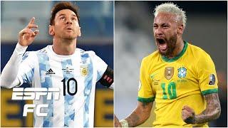 Argentina vs. Brazil: Is Lionel Messi or Neymar under more pressure in Copa America final?