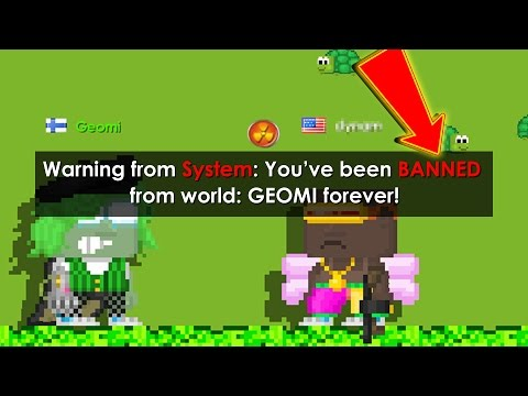 How To Permanently Ban From Your World [Works 2017] | Growtopia