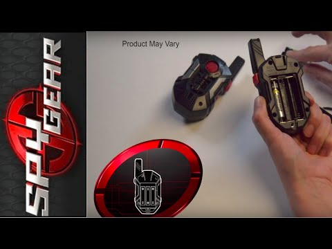 How-To: Spy Gear Ultra Walkie Talkie