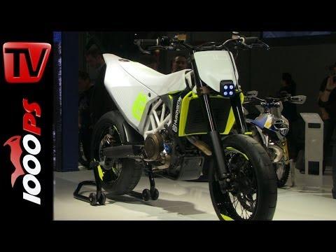 Husqvarna 701 Supermoto Concept 2014 @EICMA 2013 Foto