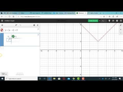 Graphing With Desmos