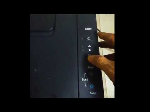 Canon G2000 Printer Reset without using Service Tool