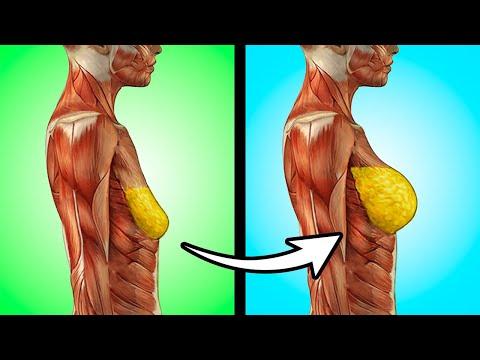 Как подкачать грудные мышцы в домашних условиях девушке